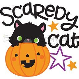 Scaredy Cat SVG