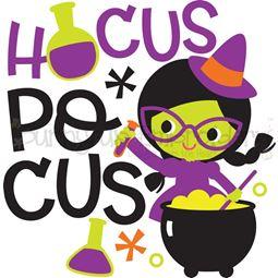 Hocus Pocus Witch SVG