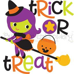Trick Or Treat Witch SVG