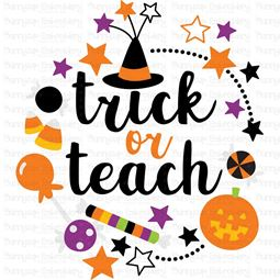 Trick Or Teach SVG