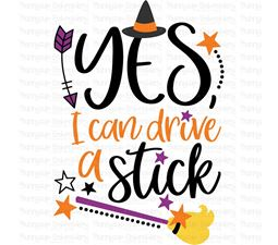 Yes I Can Drive A Stick SVG