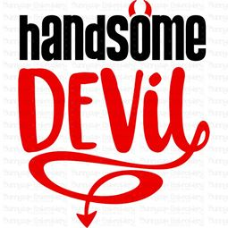 Handsome Devil SVG
