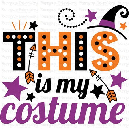 This Is My Costume SVG