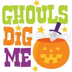 Ghouls Dig Me SVG