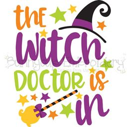 The Witch Doctor Is In SVG