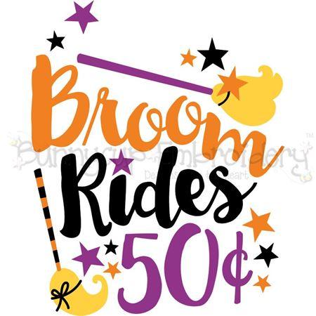 Broom Rides 50c SVG