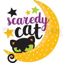 Scaredy Cat SVG