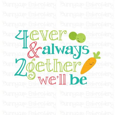 4 Ever and Always 2gether SVG
