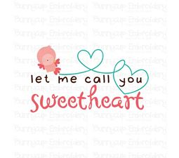 Let Me Call You Sweetheart SVG