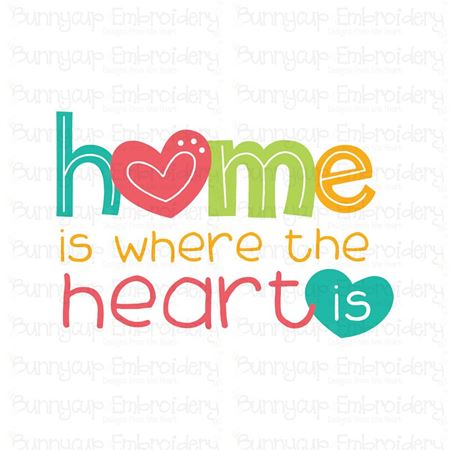 Home Is Where The Heart Is SVG