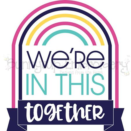 Download We're In This Together SVG - Bunnycup SVG