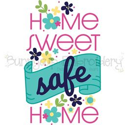 Home Sweet Safe Home SVG