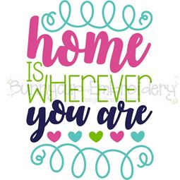 Home Is Wherever You Are SVG