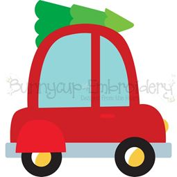 Christmas Car SVG