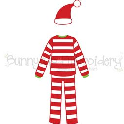 Dad Christmas Pajamas SVG