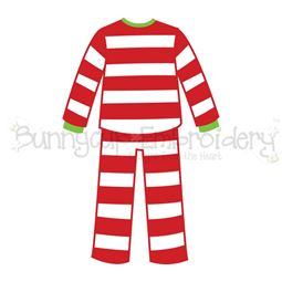 Boy Christmas Pajamas SVG
