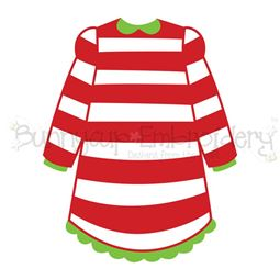Girl Christmas Pajamas SVG