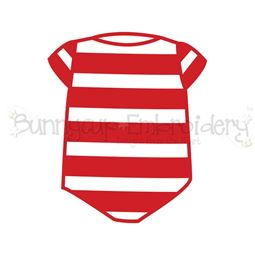 Baby Christmas Pajamas SVG