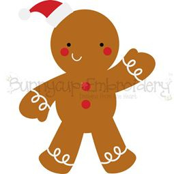 Christmas Gingerbread Man SVG
