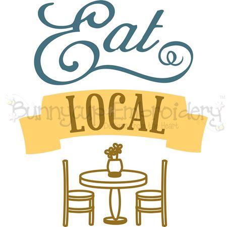 Eat Local SVG