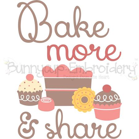 Bake More And Share SVG
