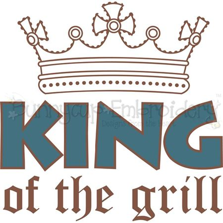 King Of The Grill SVG