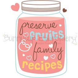 Preserve Fruits And Family Recipes SVG