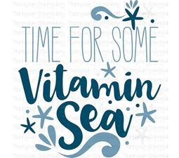 Time For Some Vitamin Sea SVG