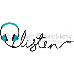 Listen SVG