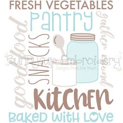 Kitchen Subway Art SVG