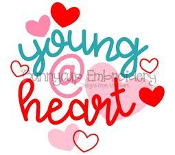 Young At Heart SVG