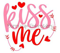 Kiss Me SVG