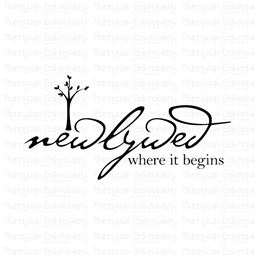 Newlywed Where It Begins SVG