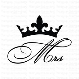 Mrs Crown SVG