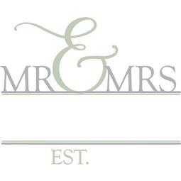 Mr And Mrs Split SVG