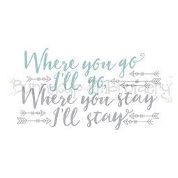 Where You Go I