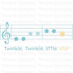 Twinkle Twinkle Little Star SVG