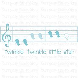 Birds Twinkle Twinkle Star SVG