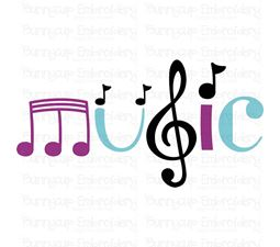 Music 4 SVG