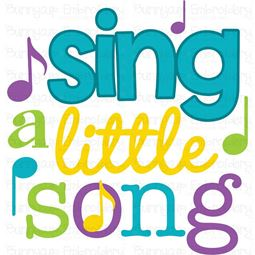 Sing A Little Song SVG
