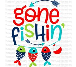 Gone Fishing SVG