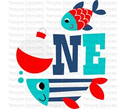 One Fish SVG