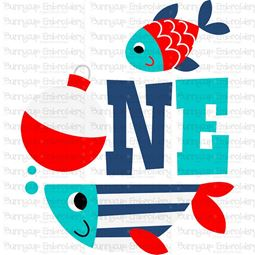 One Fish SVG