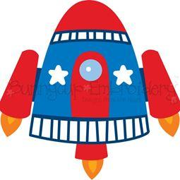 Rocket Ship SVG