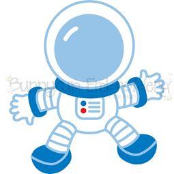Boy Astronaut SVG