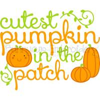 Pumpkin Patch Sentiments SVG