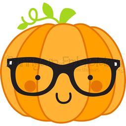 Pumpkin Nerd SVG