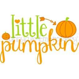 Little Pumpkin SVG