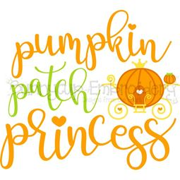 Pumpkin Patch Princess SVG