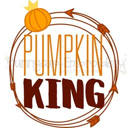 Pumpkin King SVG